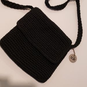 The Sak black handbag beautiful
